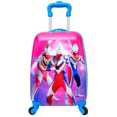 儿童拉杆箱奥特曼 行李箱男女小孩子旅行书箱 1寸小学生密码箱包