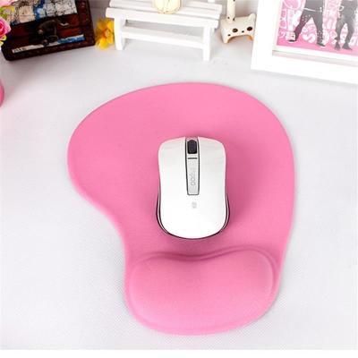 鼠标垫护腕记忆棉护腕鼠标垫电脑办公舒适手腕垫手托腕托包邮纯色