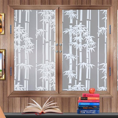 玻璃窗花贴纸磨砂玻璃贴卫生间透光不透明浴室玻璃纸贴膜自粘贴纸