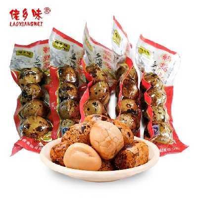 【量贩160枚】40袋五香鹌鹑蛋零食真空装卤蛋5袋装20枚多规格可选