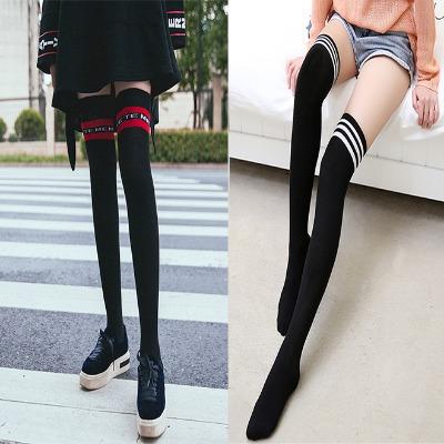 【买2单送1双】春夏过膝袜子女日系高筒袜学生大腿袜长筒袜女