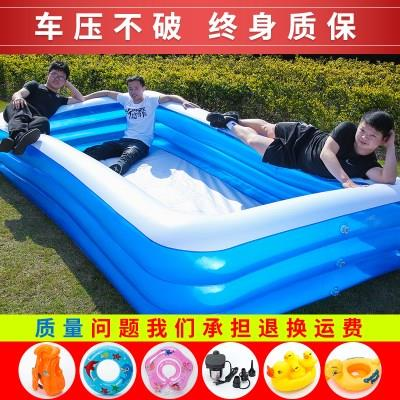 特厚儿童充气游泳池成人戏水池家用户外婴儿小孩宝宝洗澡池超大号