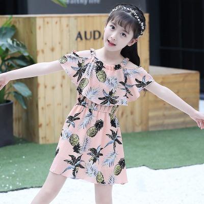 2020新款女童夏装连衣裙儿童女孩韩版吊带裙童装裙子雪纺公主裙